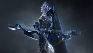 Drow Ranger, Dark Elf Pemanah Dalam Diam Dota 2