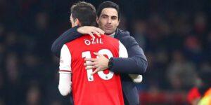 Mikel Arteta Kembali Tampilkan Mesut Ozil di Arsenal